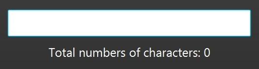 number of characters in java