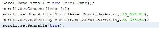 ScrollPane in JavaFX